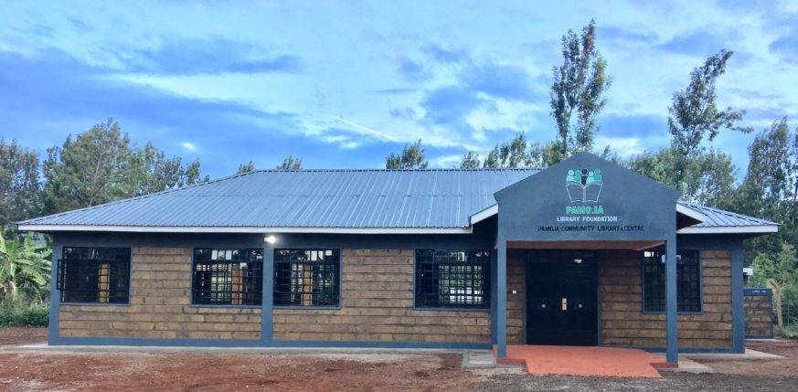 <b>Library</b><br> On July 13, 2018, The Pamoja Community Library &amp; Center was opened in Tigania West, Kenya. This is the first library in the area and the community is extremely excited about the many opportunities this represents especially for the children and youth. Thousands of residents here now have access to books, newspapers, computers and a wide range of literacy and education programs we will be rolling out to include:
